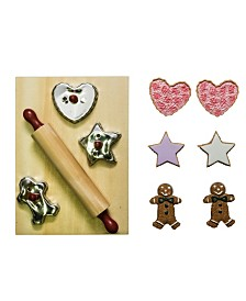 "18"" Doll Cookie and Baking Tool Accessory Set, 12 Piece Kitchen Cookies, Cutters and Tools"