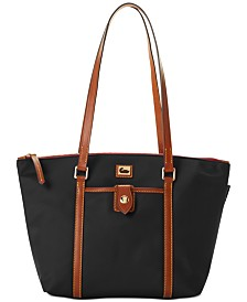 Dooney & Bourke Wayfarer Nylon Zip Tote