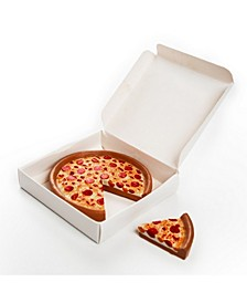 """18"""" Doll Food Kitchen Pepperoni Pizza with Slice and Real Pizza Box Accessories"""