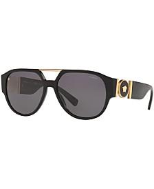 Versace Polarized Sunglasses, Created For Macy's, VE4371 58