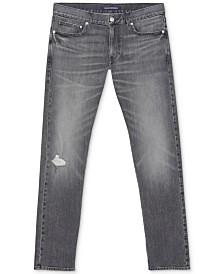 Calvin Klein Jeans Men's Slim-Fit Stretch Destroyed Jeans