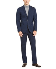 Kenneth Cole Unlisted Men's Slim-Fit Stretch Navy Suit