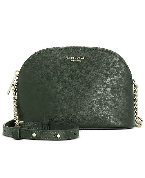 kate spade new york Sylvia Small Dome Leather Crossbody