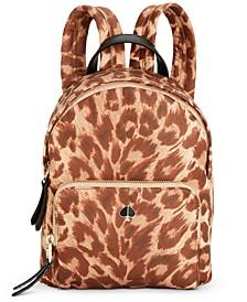 Taylor Leopard Backpack