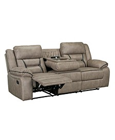 "Acropolis 88"" Manual Motion Reclining Sofa"