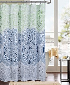 RT Designers Collection Cordova Printed Canvas 13-Pc. Shower Curtain Set