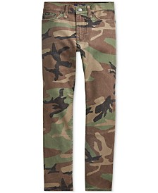 Polo Ralph Lauren Big Boys Slim-Fit Sullivan Camo Jeans