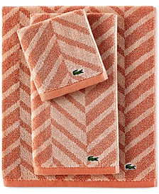 Herringbone Cotton Bath Towel Collection
