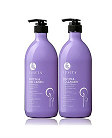 Luseta Beauty Biotin & Collegan Shampoo & Conditioner Set 67.6 Ounces