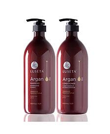 Luseta Beauty Argan Oil Shampoo & Conditioner Set 67.6 Ounces