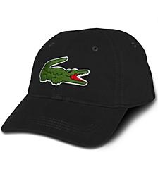 Men's Large Croc Gabardine Cap
