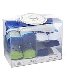 Tendertyme Infant Socks in a Box Boy