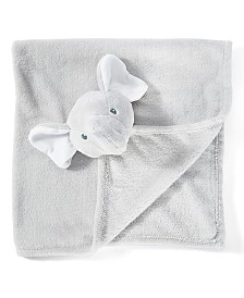 Amor Bebe infant Jumbo Elephant Security Blanket