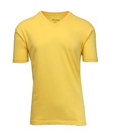 Galaxy By Harvic Men's Short Sleeve V-Neck T-Shirt