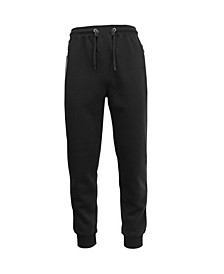 Men's Slim Fit Jogger Pants with Zipper Pockets