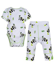 Miracle Baby Short Sleeve Bodysuit and Pant Outfit
