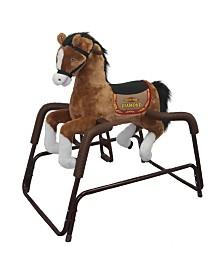 Rockin' Rider Diamond Spring Horse