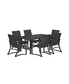 Cosco Outdoor Furniture 7-Piece Patio Dining Set