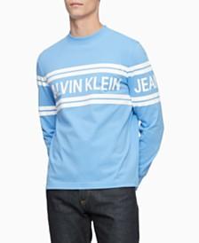 Calvin Klein Jeans Men's Varsity Logo Shirt