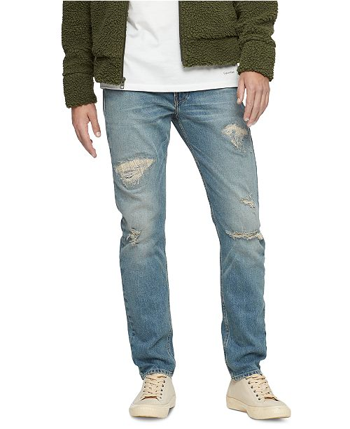 Calvin Klein Jeans Men's Slim-Fit Tapered Ringo Jeans