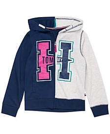 Big Girls Colorblocked French Terry Hoodie