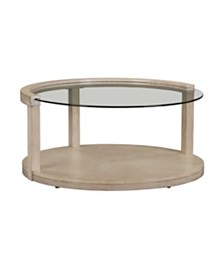 Cleo Round Cocktail Table, Quick Ship