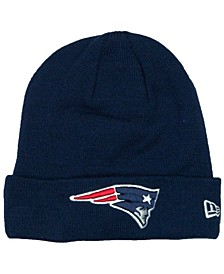 New England Patriots Basic Cuff Knit Hat