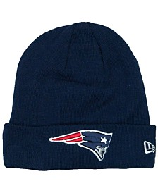 New Era New England Patriots Basic Cuff Knit Hat