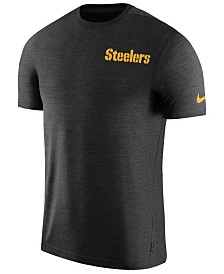 Nike Men's Pittsburgh Steelers Coaches T-Shirt