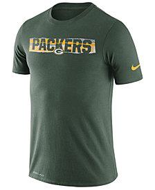 Nike Men's Green Bay Packers Dri-FIT Mezzo Tear T-Shirt