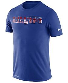 Nike Men's New York Giants Dri-FIT Mezzo Tear T-Shirt