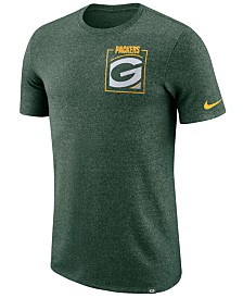 Nike Men's Green Bay Packers Marled Stadium T-Shirt