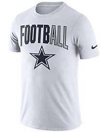 Nike Men's Dallas Cowboys Dri-FIT Cotton Football All T-Shirt