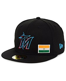 Miami Marlins Flag Day City 59FIFTY Cap
