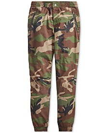 Polo Ralph Lauren Big Boys Camo Poplin Joggers