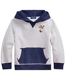 Polo Ralph Lauren Toddler Boys Polo Bear Cotton Fleece Hoodie