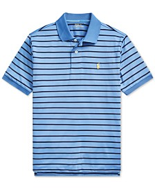 Polo Ralph Lauren Big Boys Lisle Performance Knit Polo Shirt