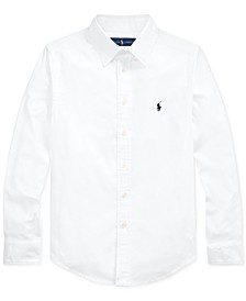 Big Boys Performance Oxford Shirt