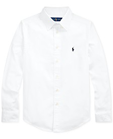 Polo Ralph Lauren Big Boys Performance Oxford Shirt