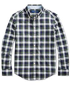 Polo Ralph Lauren Big Boys Madras Plaid Shirt