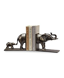 Home Elephant Bookends