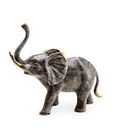 Home Bellowing Elephant Sculpture
