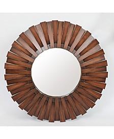 Wall Wood Mirror