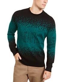 Alfani Men's Ombre Rib Crewneck Sweater, Created for Macy's