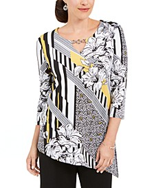 Embellished Asymmetrical Tunic, Created for Macy's