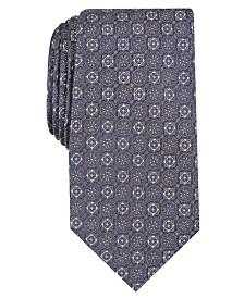 Tasso Elba Men's Classic Neat Silk Tie, Created for Macy's