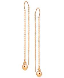 GUESS Charm Threader Earrings