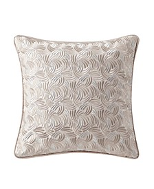 "Gisella 14"" X 14"" Square Decorative Pillow"