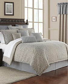 Waterford Baylen Reversible King 4 Piece Comforter Set