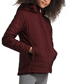 Little & Big Girls Mossbud Swirl Hooded Jacket